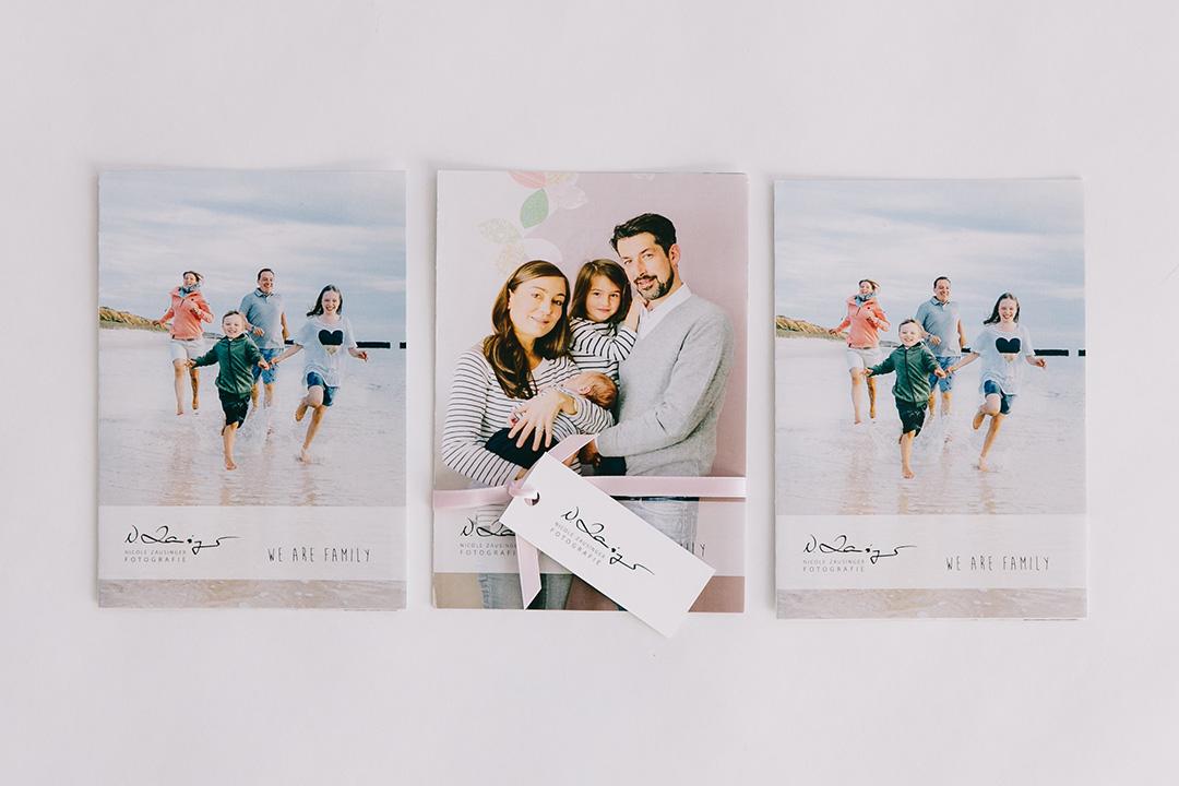 Marketingfaltblatt Familienfotografie